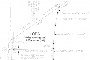 Weld County Mountain View Estates Lot A